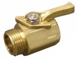 Dramm Heavy Duty Brass Shut-Off Valve