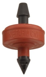 Netafim Self Piercing Pressure Compensating Emitters w/ Internal Check Valve - 2.0 GPH