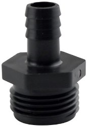 "Hydro Flow Garden Hose Thread Adapter to 1/2"" Barbed pack of 10"