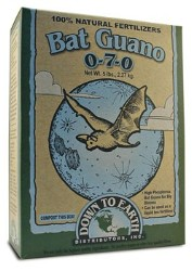 Down To Earth Bat Guano 0-7-0 - 5 lb