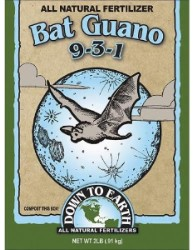 Down To Earth Bat Guano 9-3-1 - 2 lb
