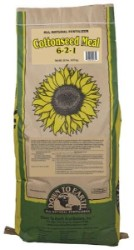 Down To Earth Cottonseed Meal 6-2-1 - 20 lb
