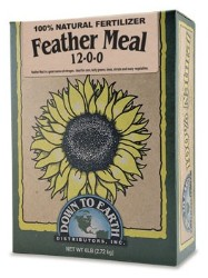 Down To Earth Feather Meal - 5 lb