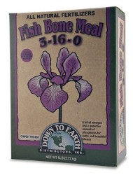 Down To Earth Fish Bone Meal 3-16-0 - 6 lb
