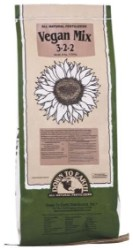 Down To Earth Vegan Mix 3-2-2 - 25 lb