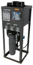Professional Reverse Osmosis System - Catalytic Carbon - 2000 GPD