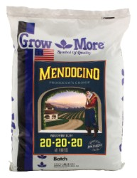 Grow More Mendocino All Purpose 20-20-20, 25 lb
