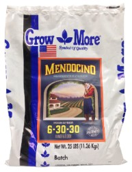 Grow More Mendocino Flower & Bloom 6-30-30, 25 lb