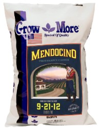 Grow More Mendocino Bloom Pro 9-21-12, 25 lb