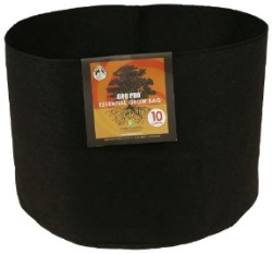 Gro Pro Essential Round Fabric Pot 10 Gallon pack of 10