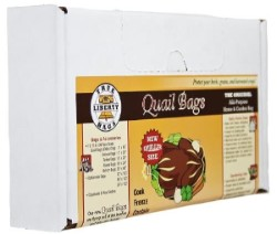 True Liberty Quail Bags 100 Pack