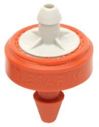 Netafim Woodpecker Junior Dripper 6.6 GPH (Orange/Grey)