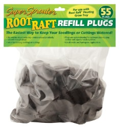 Super Sprouter Root Raft Replacement Plugs 55 ct