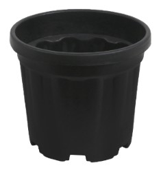 Gro Pro Round Ribbed Tub 2.4 Gallon - 9 Liter