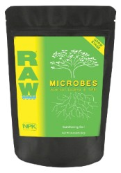 NPK Raw Microbes Grow Stage 8 oz