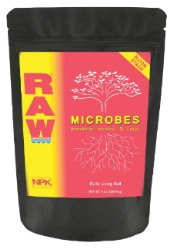 NPK Raw Microbes Bloom Stage 8 oz