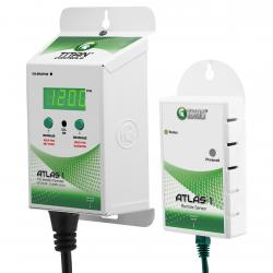 Titan Controls Atlas 1 CO2 Monitor/Controller with Remote Sensor