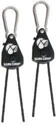 Sun Grip Original Light Hanger 1/8 in - Black - 1/Pair (12/Cs)