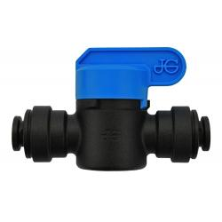 Speedfit Inline Shut Off Valve - 1/4 in - Black