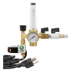 Titan Controls CO2 Two Tank Regulator System w/ Shutoff Valves