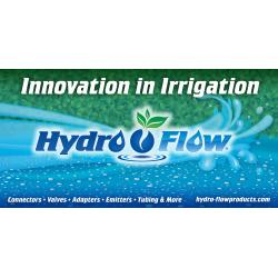 Hydro Flow Vinyl Banner - Horizontal 8 ft wide x 4 ft tall