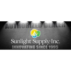 Sunlight Supply Authorized Dealer Vinyl Banner - Horizontal 15 ft wide x 6 ft tall