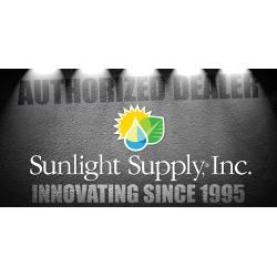Sunlight Supply Authorized Dealer Vinyl Banner - Horizontal 8 ft wide x 4 ft tall