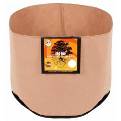 Gro Pro Essential Round Fabric Pot - Tan 400 Gallon