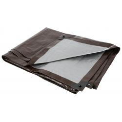 Grower's Edge Heavy Duty Brown / Silver Tarp 12 ft x 20 ft