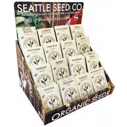 Seattle Seed Company Counter Display