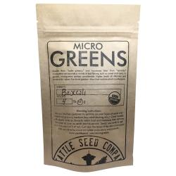 Broccoli for Microgreens 1/4 lb (Sealed Bag)