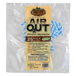 Harvest Keeper Air Out Oxygen Absorber 50 cc Bag of 25