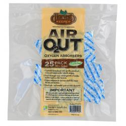 Harvest Keeper Air Out Oxygen Absorber 100 cc Bag of 25