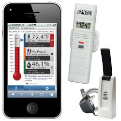 Remote Temperature and Humidity Monitoring System