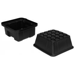 EZ-Clone 16 Cutting System Lid & Reservoir - Black