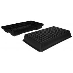 EZ-Clone 128 Cutting System Lid & Reservoir - Black