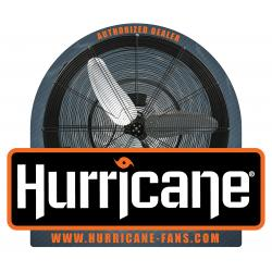 Hurricane Double Sided Window Cling