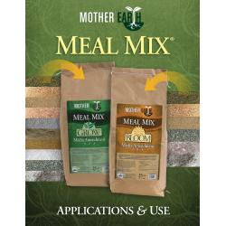 Mother Earth Meal Mix Application Brochure