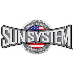 Sun System Aluminum Sign 4 ft x 2 ft