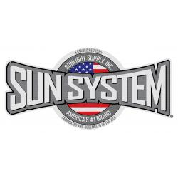 Sun System Aluminum Sign 8 ft x 4 ft