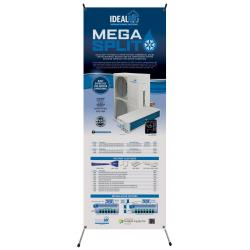 Ideal-Air Mega Split Banner w/ X-Frame