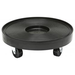 Plant Dolly Black 12 in Round