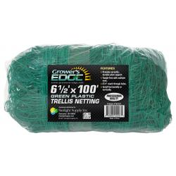 Grower's Edge Green Trellis Netting 6.5 ft x 100 ft