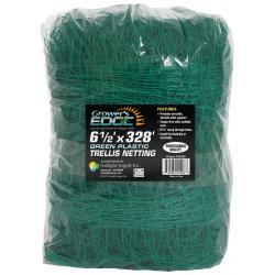 Grower's Edge Green Trellis Netting 6.5 ft x 328 ft