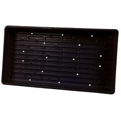 Super Sprouter Triple Thick Tray Black 10 x 20 w/ Holes
