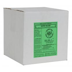 Super Tea Dry 12 lb CA Label