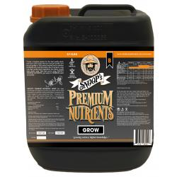Snoop's Premium Nutrients Grow B Non-Circulating 5 Liter