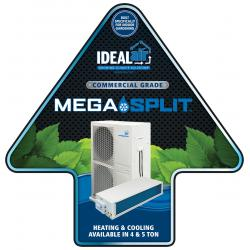 Ideal-Air Mega-Split Floor Sticker 24 in x 24 in