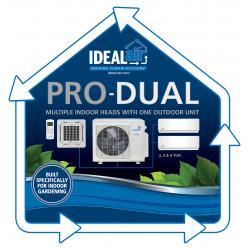 Ideal-Air Pro-Dual Mini-Split Floor Sticker 24 in x 24 in