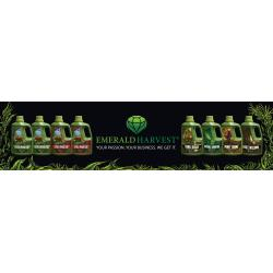Emerald Harvest Banner - 3 ft x 12 ft Black